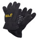 Jack Wolfskin Fleece Gloves Children black